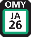 JR JA-26 station number.png