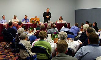 John Whitmer Historical Association - Richard Bushman speaks to the JWHA meeting in Springfield, Illinois in 2011.