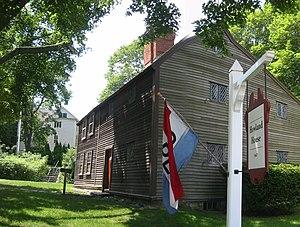 Jabez Howland House - Image: Jabez Howland House
