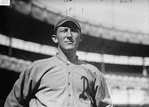 Jack Lapp - Lapp with the Athletics in 1914