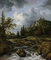 Jacob van Ruisdael - Der Wasserfall vor dem Schlossberg.jpg
