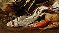 Jacob van der Kerckhoven - Tihožitje z ribami in s školjkami.jpg
