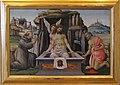 Jacopo del sellaio, compianto con i santi francesco e girolamo.JPG