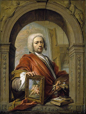 Jacques Ignatius de Roore - Self-portrait