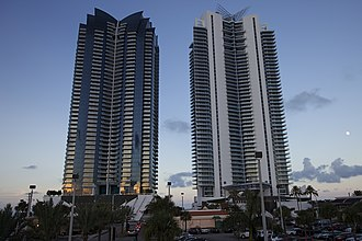 Jade Beach and Jade Ocean - Jade Ocean and Jade Beach from the west