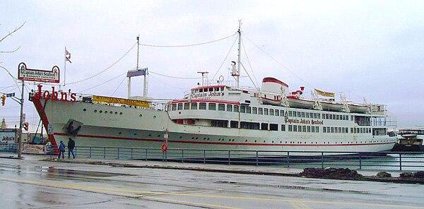 Toronto Harbour Tours Parking