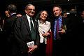 Jagdish Bhagwati and Padma Desai (Columbia University) and Ed Luce (Financial Times) (7204981944).jpg