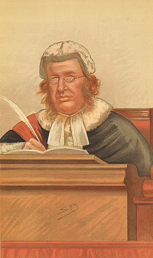 James Fitzjames Stephen - Judges, No. 14, Vanity Fair, March 7, 1885.