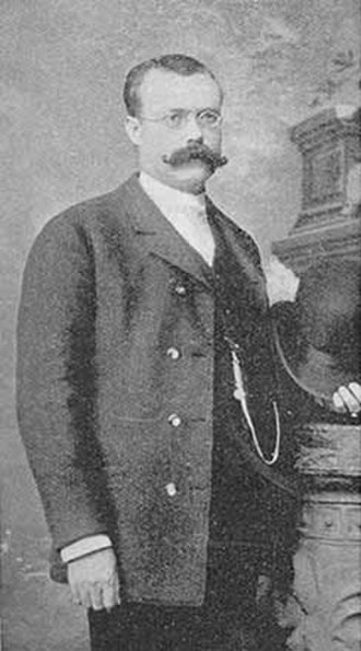 Colorado Labor Wars - Pinkerton Detective Agency detective James McParland, seen here some time in the 1880s.