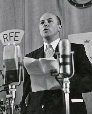 Jan Nowak-Jeziorański - Jan Nowak-Jeziorański on Radio Free Europe, 3 May 1952