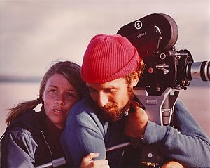Jan Cousteau - Jan and Philippe Cousteau during an expedition