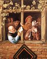 Jan Steen - Rhetoricians at a Window - WGA21729.jpg