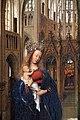 Jan van eyck, madonna in una chiesa, 1440 ca. 04.JPG