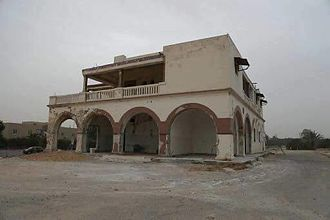 Rail transport in Libya - Janzour Railway Station in 2016
