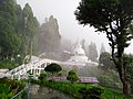 Japanese Peace Pagoda, Darjeeling, Full view.jpg