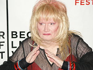 Jayne County - County at the première of Squeezebox! at the 2008 Tribeca Film Festival