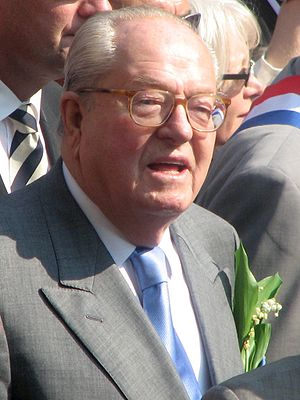European Parliament election, 1989 (France) - Image: Jean Marie Le Pen 479834203 5030701e 77 o