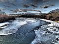 Jefferson River near Waterloo Bridge January 2015 13.JPG