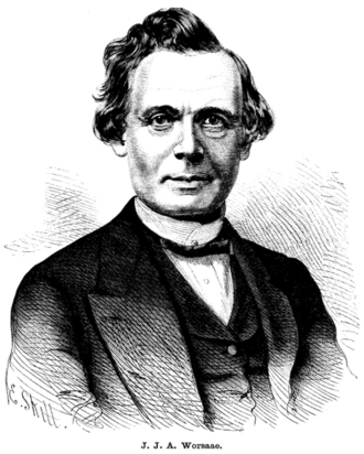 Jens Jacob Asmussen Worsaae - Jens Jacob Asmussen Worsaae