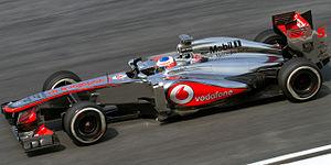 McLaren MP4-28 - Image: Jenson Button 2013 Malaysia FP2 2