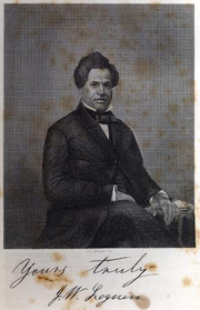 Engraving of J.W. Loguen from his 1859 Autobiography