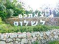 Jerusalem entrance goodbye sign.jpg