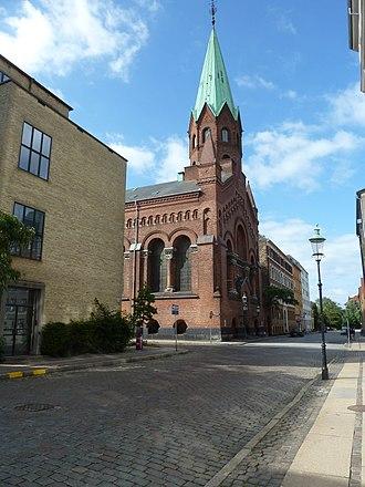 Jerusalem's Church, Copenhagen - Image: Jerusalemskirken (Rigensgade)
