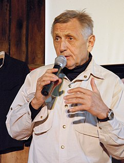 Jiří Menzel Czech film director, actor, director, scriptwriter, writer and university educator