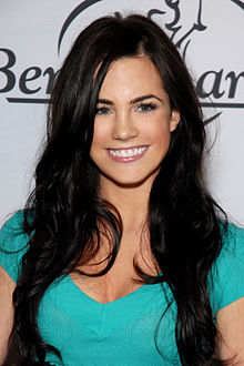 Jillian Murray attending the Benchwarmer Valentines Party at Area, Hollywood, California, on December 12, 2008