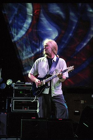 Jimmy Herring - Herring performing with The Dead at the Virginia Beach Amphitheater, June 17, 2003