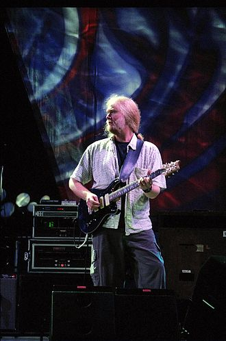 Jimmy Herring - Herring performing with The Dead at the Virginia Beach Amphitheater on June 17, 2003