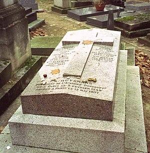 Joris-Karl Huysmans - Huysmans' grave.