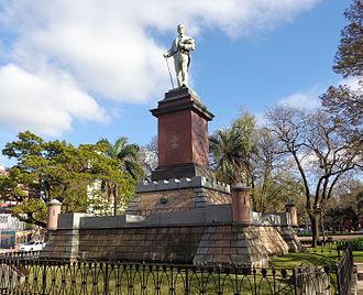 History of Uruguay - Joaquín Suárez monument in Montevideo