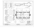 Joel Lane House, 728 Hargatt Street, Raleigh, Wake County, NC HABS NC,92-RAL,2- (sheet 2 of 6).png