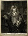 Johannes Dolaeus. Mezzotint by P. Schenck after himself. Wellcome V0001618.jpg