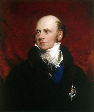 John Russell, 6th Duke of Bedford - Portrait of John Russell, 6th Duke of Bedford by Sir George Hayter in 1835