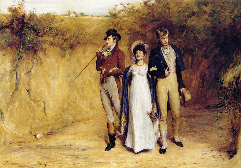 Featured and quiz image credit: 'Two Strings To Her Bow' by John Pettie (1882). Public Domain via Wikimedia Commons.