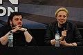 John Bradley y Gwendoline Christie en London Film & ComicCon, 2012..jpg