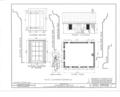John Brainard School, 35 Brainard Street, Mount Holly, Burlington County, NJ HABS NJ,3-MOUHO,3- (sheet 1 of 2).png