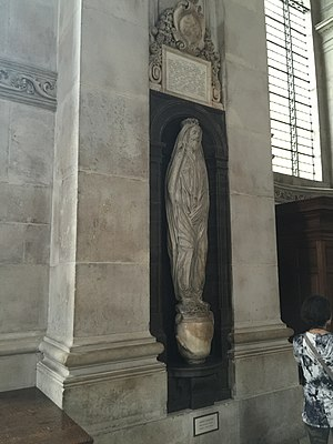 John Donne - Memorial to John Donne, St Paul's Cathedral