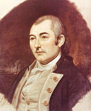 John Hazelwood - Commodore John Hazelwood  by Charles Wilson Peale