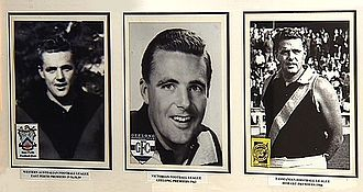 John K. Watts - The three major Football Clubs J.K. Watts played for.