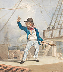 Caricature of a Sailor (One of a Set of Three)