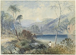John Skinner Prout - Image: John Skinner Prout, Fairlight Glen on the Warragambra