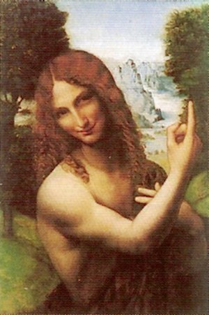 St. John the Baptist (Leonardo) - Image: John the Baptist Salai