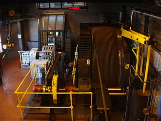 Johnstown Inclined Plane - The room that houses the incline's hoisting mechanisms