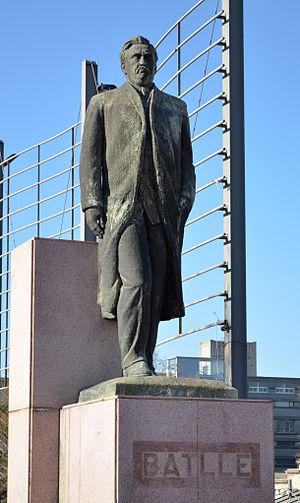 José Batlle y Ordóñez - Monument of Batlle in Montevideo