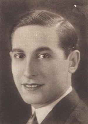 José Nieto (actor) - José Nieto in 1932
