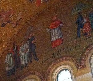 Joseph Ritter - Mosaic depicting Joseph Cardinal Ritter.