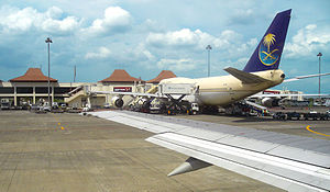 Juanda International Airport - Image: Juanda Airport Apron